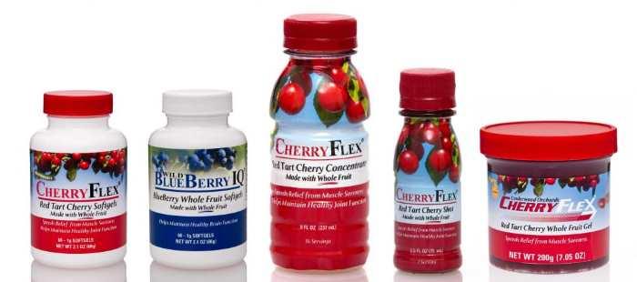 Los productos de CherryFlex-cerezas para la artrosis