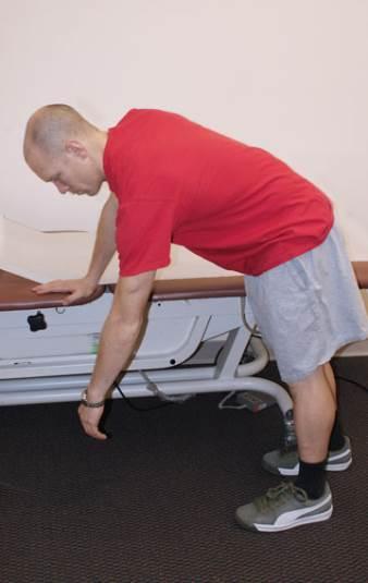 Ejercicio de Péndulo para artrosis de hombro